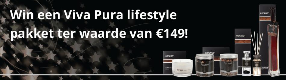Maak kans op een Viva Pura lifestyle pakket bij iedere bestelling in de maand december!